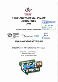 75º AUTOCROSS ARTEIXO 2016