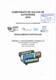 5º AUOCROSS CARBALLO 2016