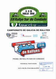 13ª RALLYE SUR DO CONDADO 2016