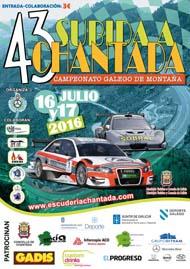 43ª SUBIDA A CHANTADA 2016