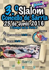 3º SLALOM CONCELLO DE SARRIA 2016