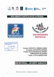 21º AUTOCROSS ARTEIXO CAMPIONATO DE ESPAÑA 2016
