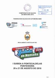 1ª SUBIDA A PONTECALDELAS 2016