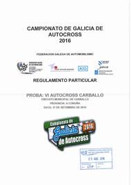 6º AUTOCROSS CARBALLO 2016