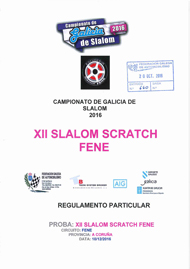 12º SLALOM SCRATCH FENE 2016
