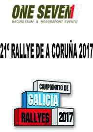 21º RALLYE DE A CORUÑA 2017