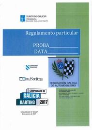 REGULAMENTO PARTICULAR KARTING 2017