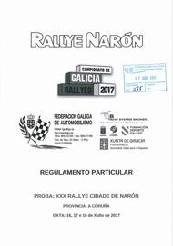 30º RALLYE CIDADE DE NARON 2017