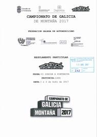6ª SUBIDA A PONTENOVA 2017