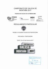 20ª SUBIDA CIDADE DE PONTEVEDRA 2017