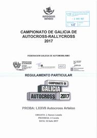 77º AUTOCROSS ARTEIXO 2017