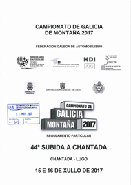 44ª SUBIDA A CHANTADA 2017