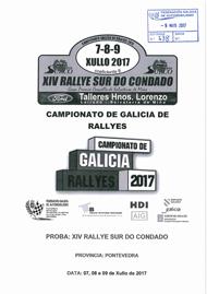 14º RALLYE SUR DO CONDADO