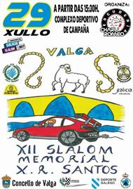 12º SLALOM CONCELLO DE VALGA 2017