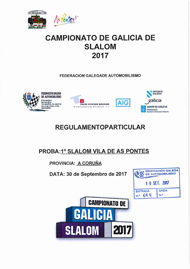 1º SLALOM VILA DE AS PONTES 2017