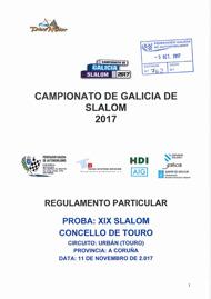 19º SLALOM CONCELLO DE TOURO 2017