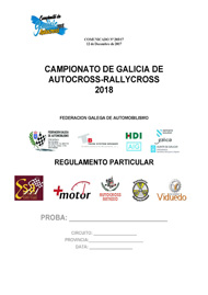 REGULAMENTO PARTICULAR AUTOCROSS