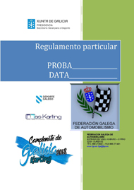 REGULAMENTO PARTICULAR KARTING 2018