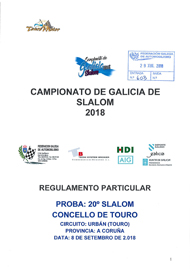 20º SLALOM DE TOURO 2018