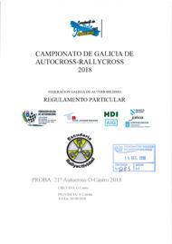 21º AUTOCROSS O CASTRO 2018