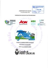 4ª SUBIDA A PONTE CALDELAS 2019