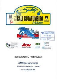 27º RALI BOTAFUMEIRO 2019