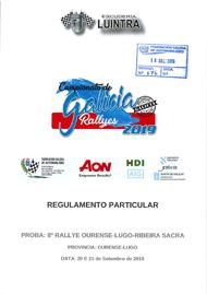 8º RALLYE RIBEIRA SACRA 2019