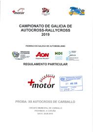12º AUTOCROSS DE CARBALLO 2019