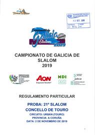 21º SLALOM DE TOURO 2019