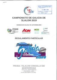 7º SLALOM DE MONTERROSO 2019