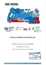 24º RALLYE DE A CORUÑA 2020