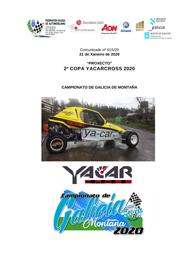 2ª COPA YACARCROSS 2020