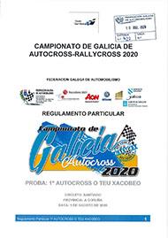 1º AUTOCROSS O TEU XACOBEO 2020