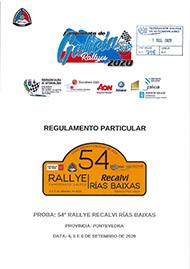 54º RALLYE RECALVI RIAS BAIXAS 2020