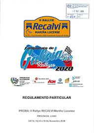 2º RALLYE RECALVI-MARIÑA LUCENSE