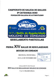 14 REGULARIDADE MOUCHO DO CONDADO