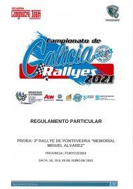 3º RALLYE DE PONTEVEDRA 2021